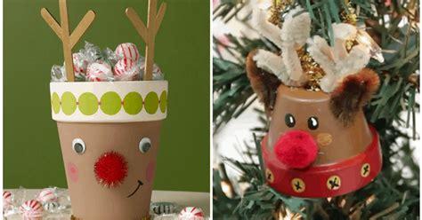 crafty reindeer pot diy cozy home