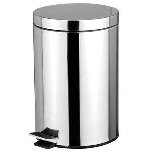 stainless steel  liter foot pedal kitchen office waste