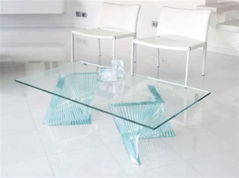 la table en verre un 233 l 233 ment incontournable du salon design