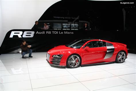 Audi R8 Tdi Le Mans Concept De 2008 V12 Tdi De 500 Ch