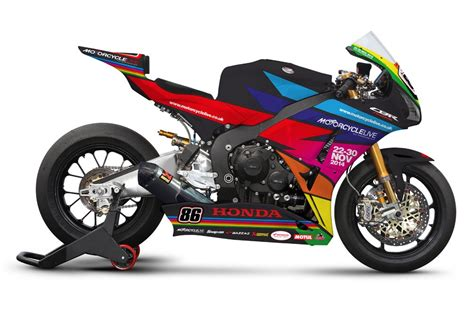 honda celebrate motorcycle live with silverstone paint