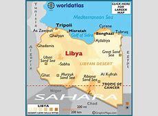 Libya Map Geography of Libya Map of Libya Worldatlascom