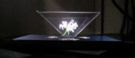 albins blog  hologram pyramid  smartphone diy