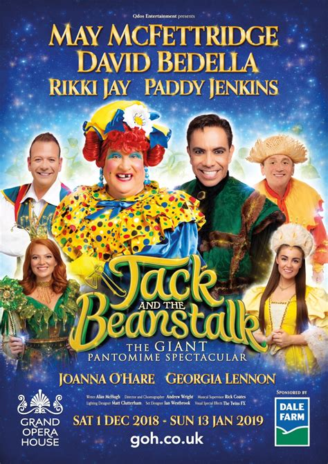 Image result for jack and the beanstalk belfast 2018