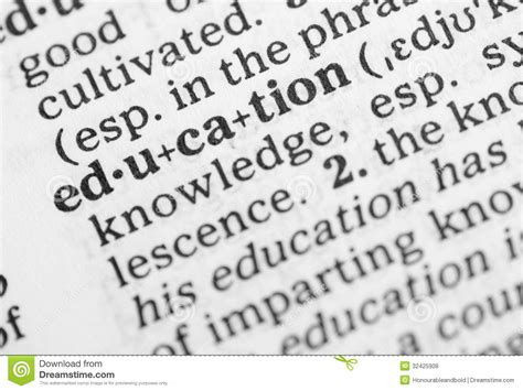 macro image  dictionary definition  education stock