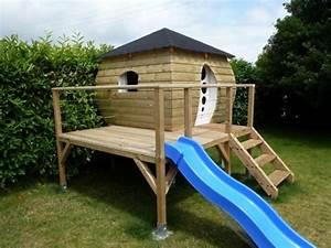 Cabane Exterieur Enfant : 44 cabane enfant le r cit de la construction besne ~ Melissatoandfro.com Idées de Décoration