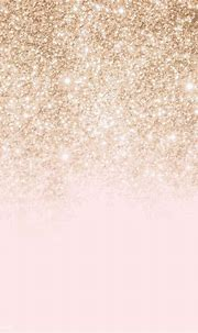 Download premium vector of Pink and gold glittery pattern ...
