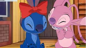 Stitch! The Anime Series images Stitch & Angel wallpaper ...