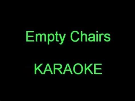 empty chairs don mclean karaoke empty chairs karaoke