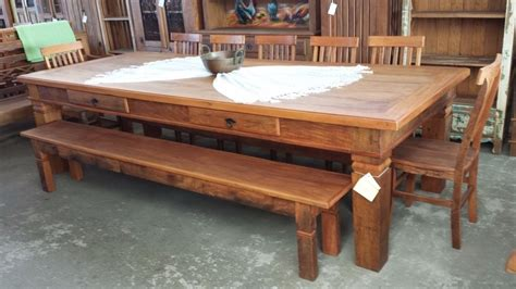 mesa de jantar napoles  madeira de demolicao