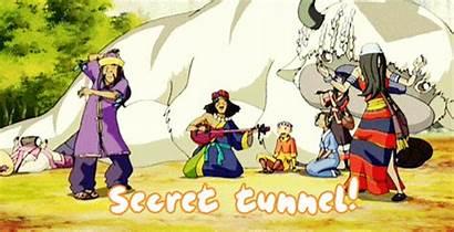Tunnel Secret Avatar Airbender Last Atla Tunnels