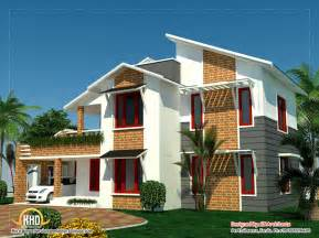 houses with 4 bedrooms 4 bedroom sloping roof house in kerala 2354 sq ft