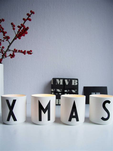 xmas nordic christmas design letters cups with arne