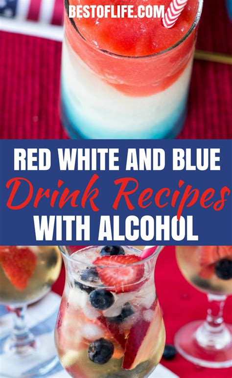 white and blue drink recipes with the best of life