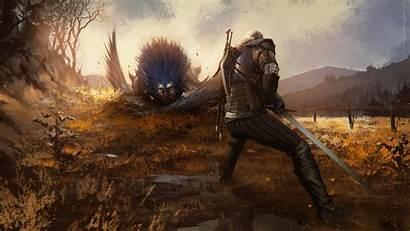 Witcher Geralt Rivia Wild Hunt Games Px