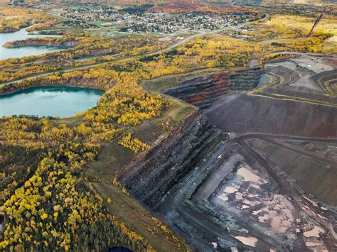 mining minnesota northern nickel ore boundary square waters wilderness rom iron economies vs history copper near pit minerals ely carron