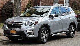 subaru forester wikipedia
