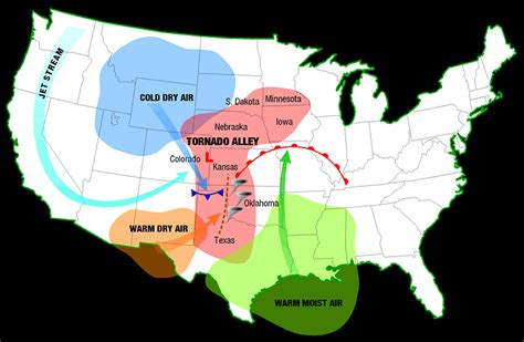where do tornadoes usually form tornadoes