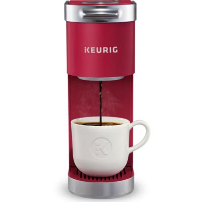 With a storage unit that holds 9 coffee pods, you are sure to save a lot of counter space. K-Mini Plus® Single Serve Coffee Maker