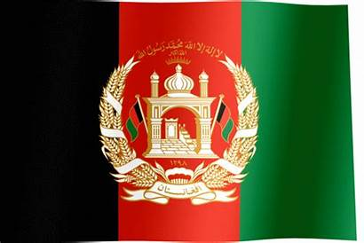 Flag Afghanistan Emblem Country Waving Mustafa Flags