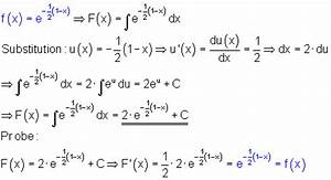 Integral Schriftlich Berechnen : integration der e funktion mathe brinkmann ~ Themetempest.com Abrechnung