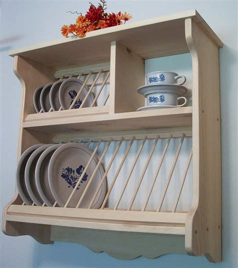 plate display rack wooden plate holders for wall whereibuyit