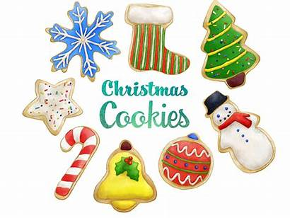 Cookie Cookies Clipart Sugar Holiday Candy Instant