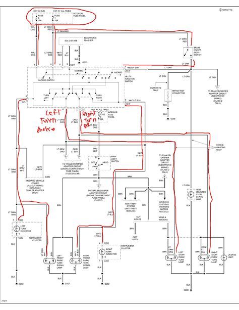 ford  brake light wiring diagram reading industrial