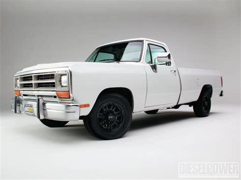 dodge d250 1989 ram cummins hero diesel zero mpg 89 custom truck power trucks trucktrend momentcar