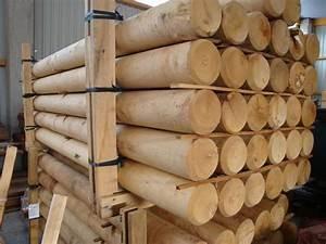 Palisaden Holz Rund : palisaden holz kesseldruckimpr gniert ~ Frokenaadalensverden.com Haus und Dekorationen