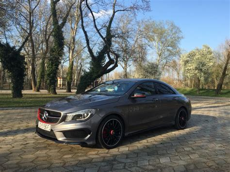 The ice drives the front wheels of the vehicle. Mercedes CLA 220 ==> Edition 1 AMG, 2014 god.