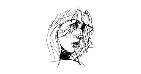 aesthetic girl sketch draw girl drawing  shirt