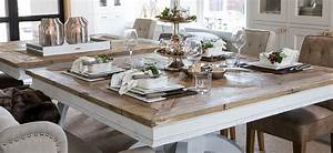 Riviera Maison Table : driftwood dining table wohnboutique living more ~ Markanthonyermac.com Haus und Dekorationen