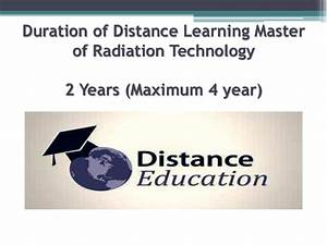 8010000200 Distance Learning Master Of Radiation ...