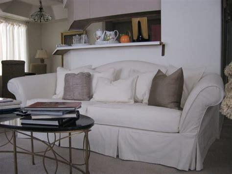 Slipcovers For Camel Back Sofa by Camelback Sofa Slipcover Yelp