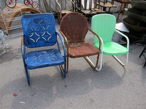 retro patio furniture count the chairs nashville flea market petticoat junktion