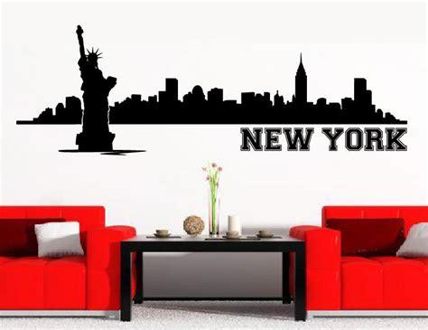 wandtattoo new york wandtattoo wandtattoos skyline new york ny wandaufkleber