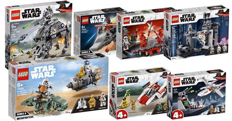 lego star wars lineup       revealed