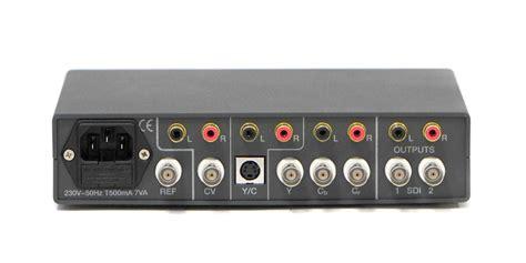 spülmaschine anschließen adapter converter analog to sd sdi convi104