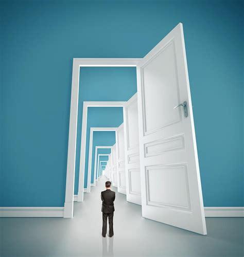 unlock the door quality and an open door the evolllution