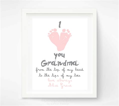 personalized mother s day gift for grandma i love you