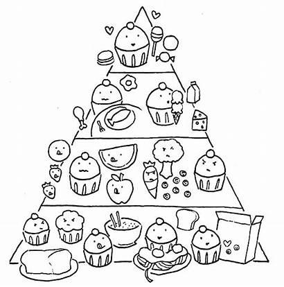 Coloring Pages Pyramid Sweet Sugar Worksheet Popular