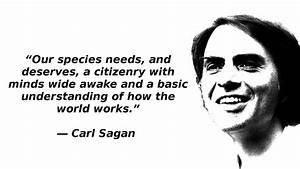 Carl Sagan Cosm... Sagan Famous Quotes