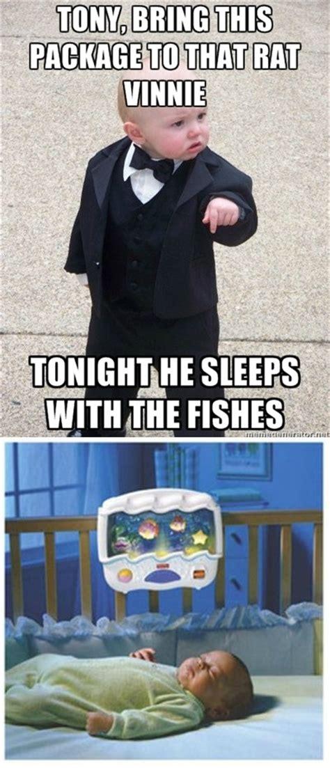 Mob Baby Meme - mafia baby