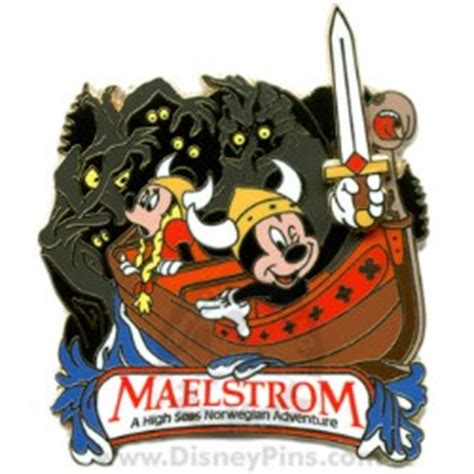 wdw store disney attraction pin maelstrom
