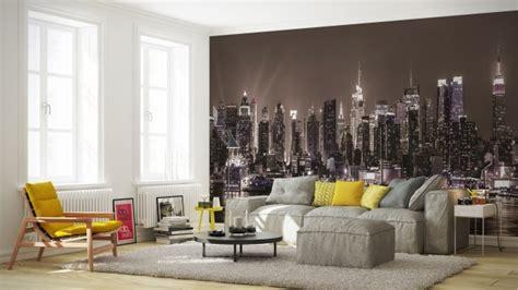papier peint  york pour  interieur moderne  original