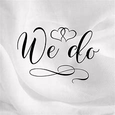We Do With Heart Wedding Svg Dxf Eps Png Pdf
