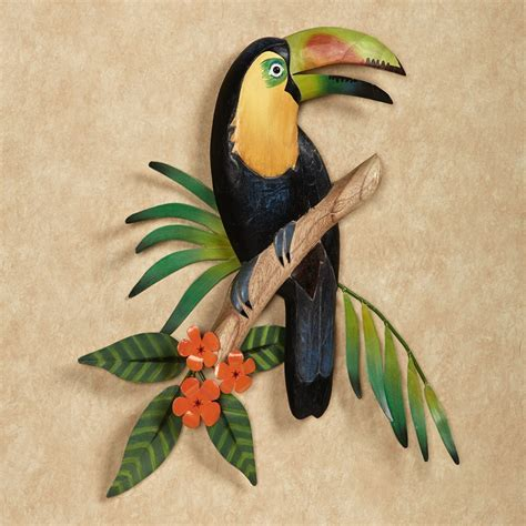 Fresh Tropical Outdoor Wall Decor   Jeffsbakery Basement