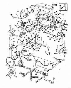 Evinrude Remote Control Parts For 1976 70hp 70673d
