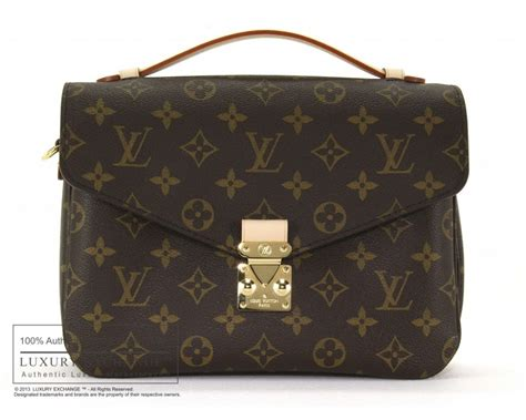 authentic louis vuitton monogram metis pochette bag